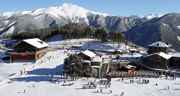 Destinos de neve românticos - La Massana, Andorra