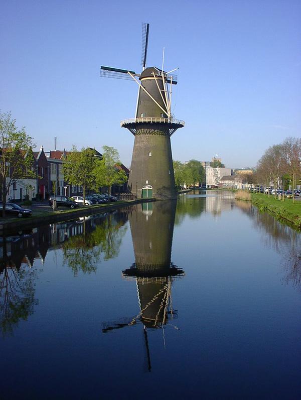 Moinhos encantadores - Schiedam, Holanda