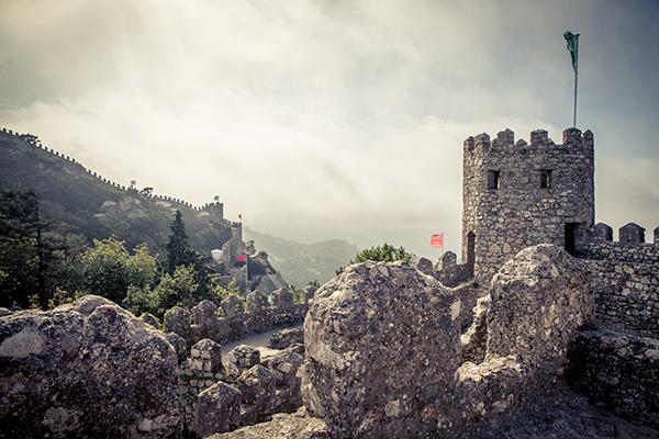 Sintra, um lugar mágico - Castelo dos Mouros