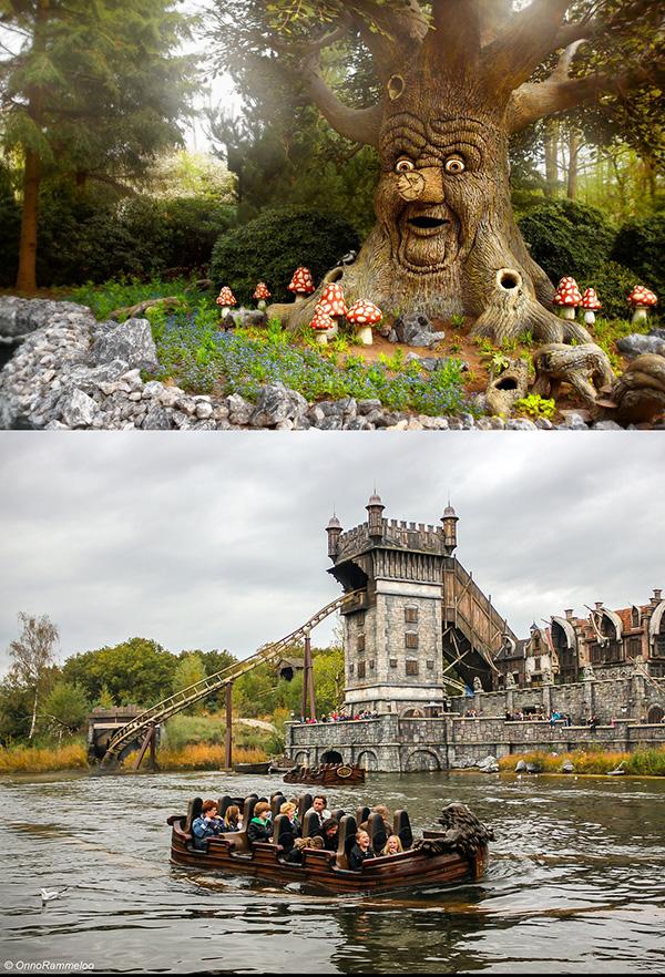 Parques temáticos espectaculares - Efteling, Holanda