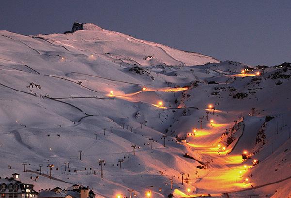 Destinos de neve românticos - Serra Nevada – Espanha