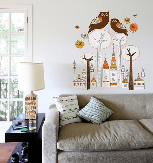 Embelezar as paredes de sua casa - papel de parede