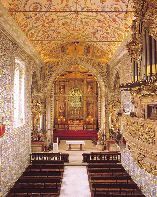 Igrejas lindas em Portugal - Capela de São Miguel, Coimbra