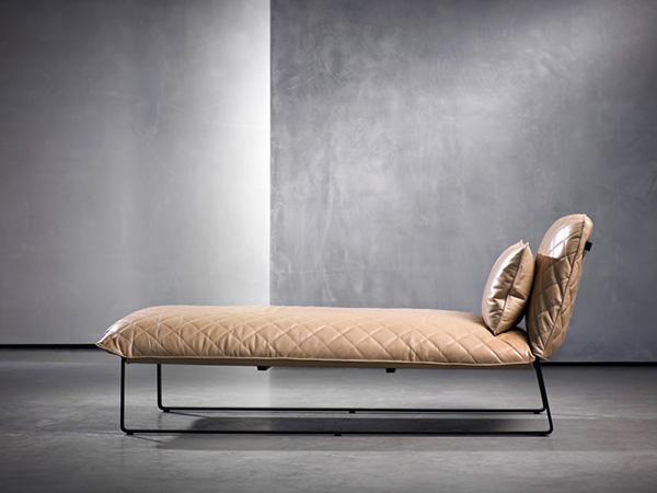 Sugestões de decoração: chaises longues - antigo e moderno em simultâneo