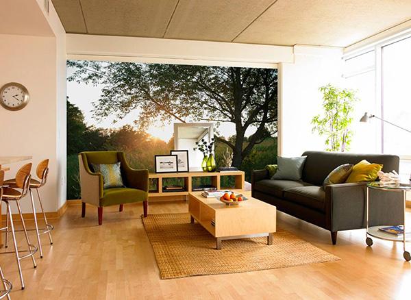 Embelezar as paredes de sua casa - papel de parede a partir das suas fotografias