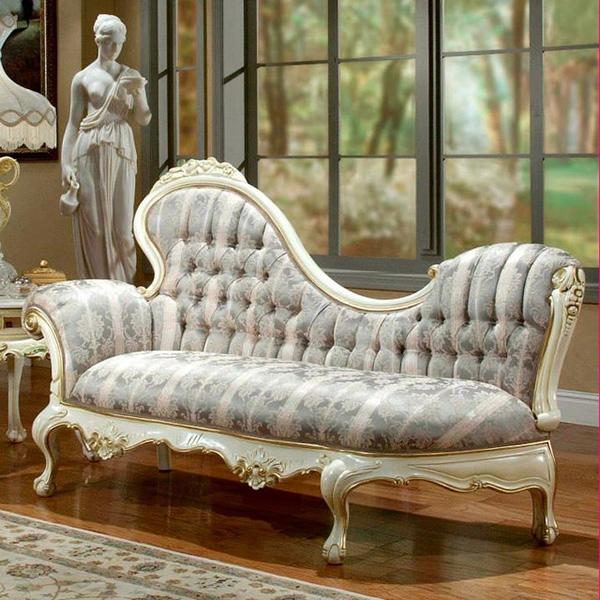 Sugestões de decoração: chaises longues - a lembrar a época vitoriana