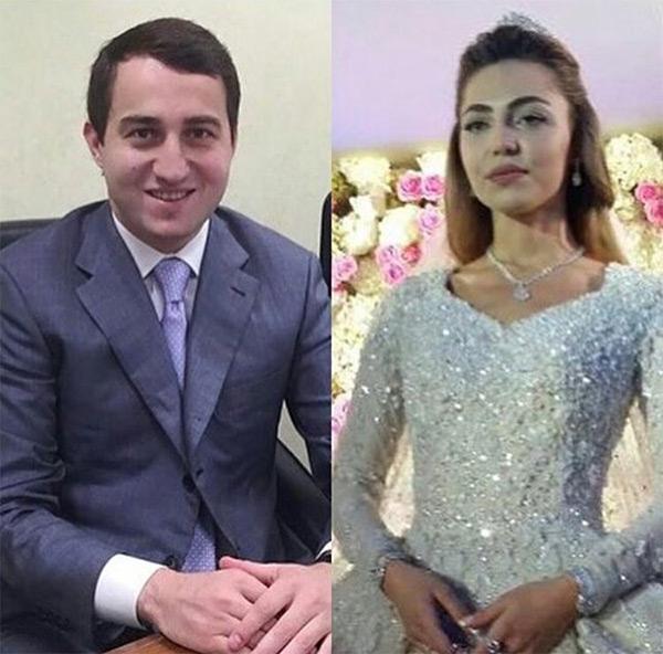 casamento mais caro do mundo - os noivos