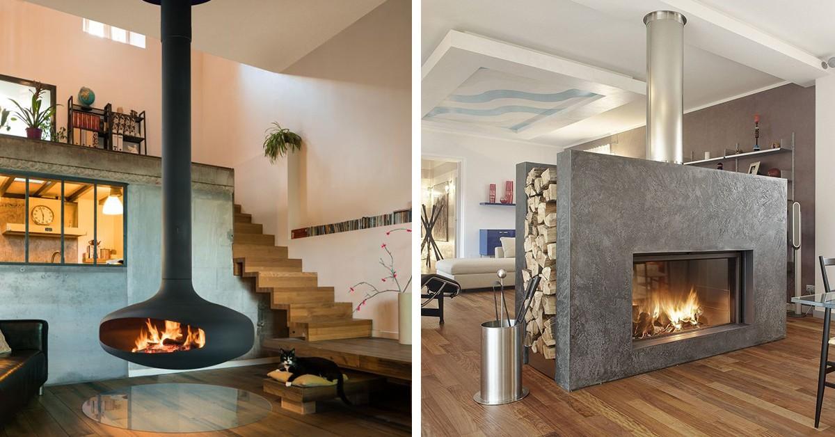 Casas com lareira – 10 ideias de decoração