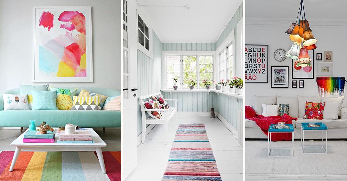 Decoração com cores – 7 grandes ideias para a sua casa