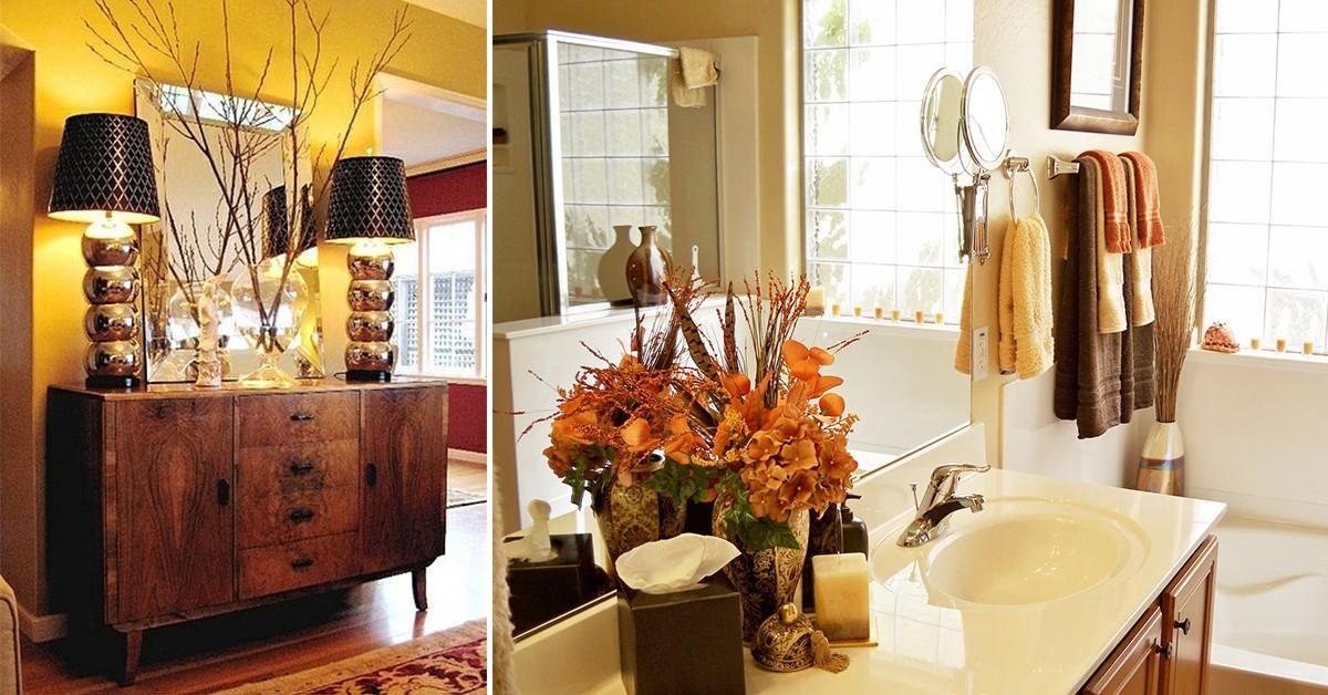 Decoração de Outono – 8 dicas úteis para a sua casa