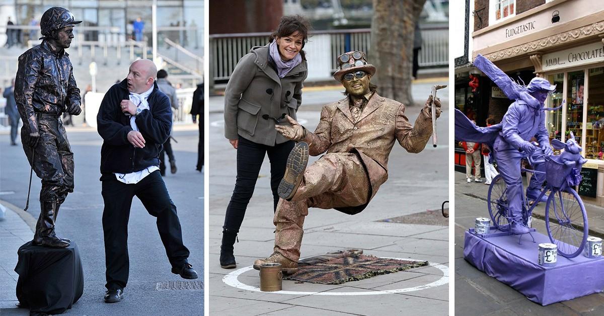 10 estátuas vivas que impressionam