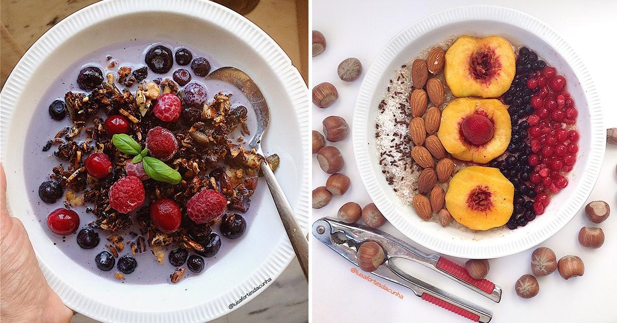 2 Pequenos-almoços deliciosos, saudáveis e nutritivos