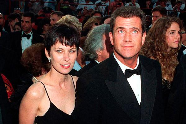 divórcios que custaram uma fortuna -Mel Gibson e Robyn Moore