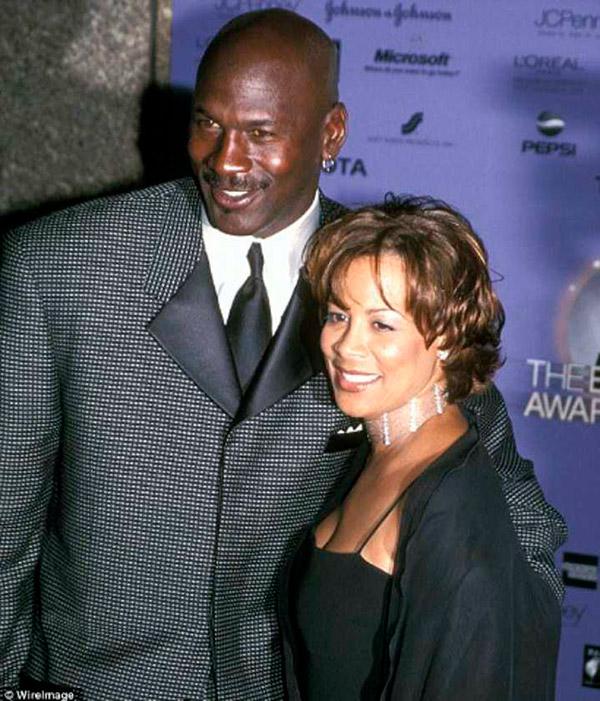 divórcios que custaram uma fortuna -Michael Jordan e Juanita