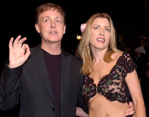 divórcios que custaram uma fortuna -Paul McCartney e Heather Mills