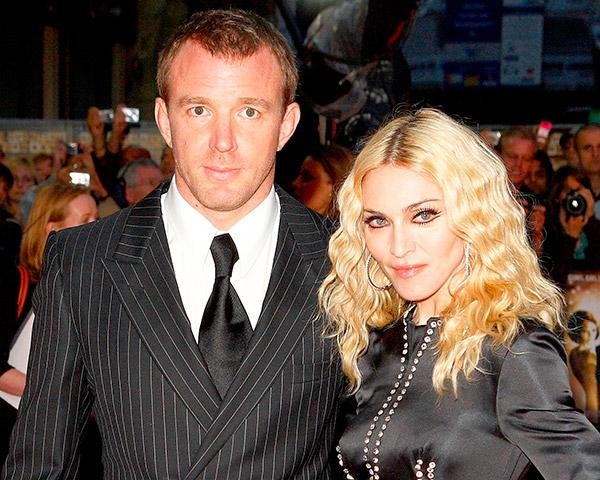 divórcios que custaram uma fortuna -Madonna e Guy Ritchie