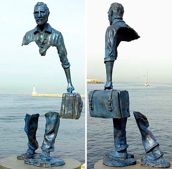 Estas estátuas são obra- Marselha