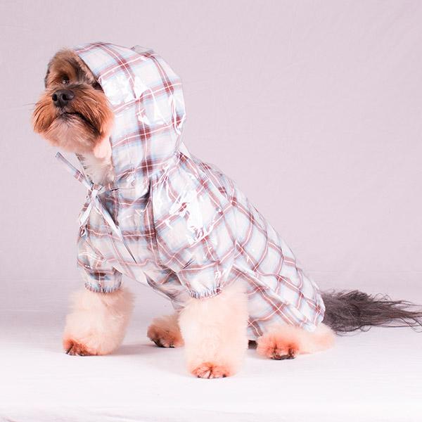 Capas para a chuva para o seu cão – capuz