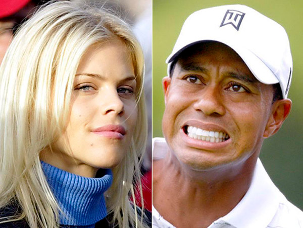 divórcios que custaram uma fortuna – Tiger Woods e Elin Nordegreen