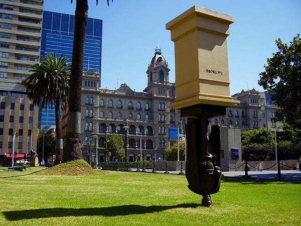 Estas estátuas são obra - Australia Melbourne