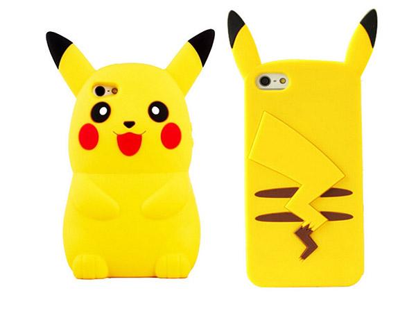Capas de telemóvel super divertidas - capa do Pikachu