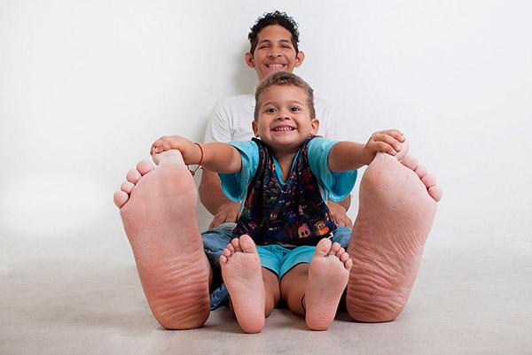 recordes do guinness impressionantes – maiores pés