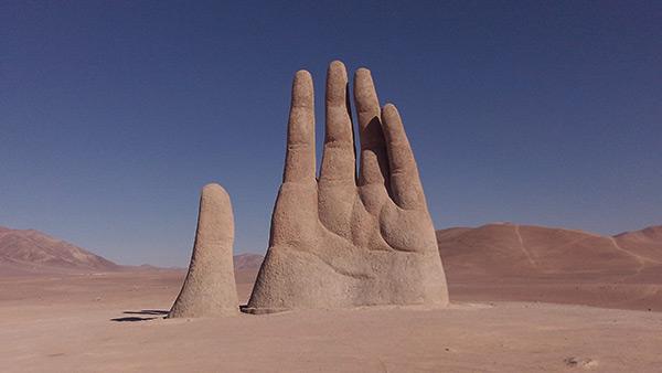 Estas estátuas são obra - Chile
