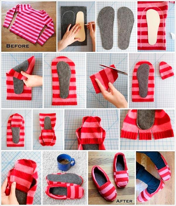 Suficiente Dê uma nova vida às roupas velhas - 10 ideias sem custos | Like3ZA PY93
