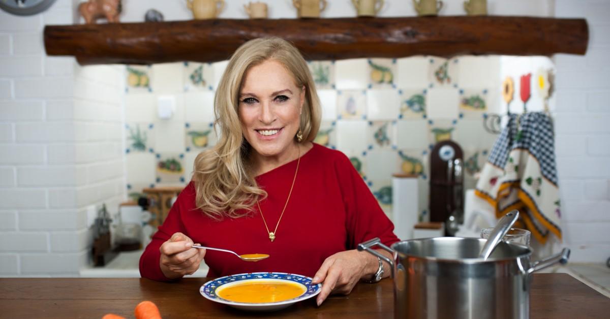 Sopa de Cenoura e Espinafres (para 6 pessoas)