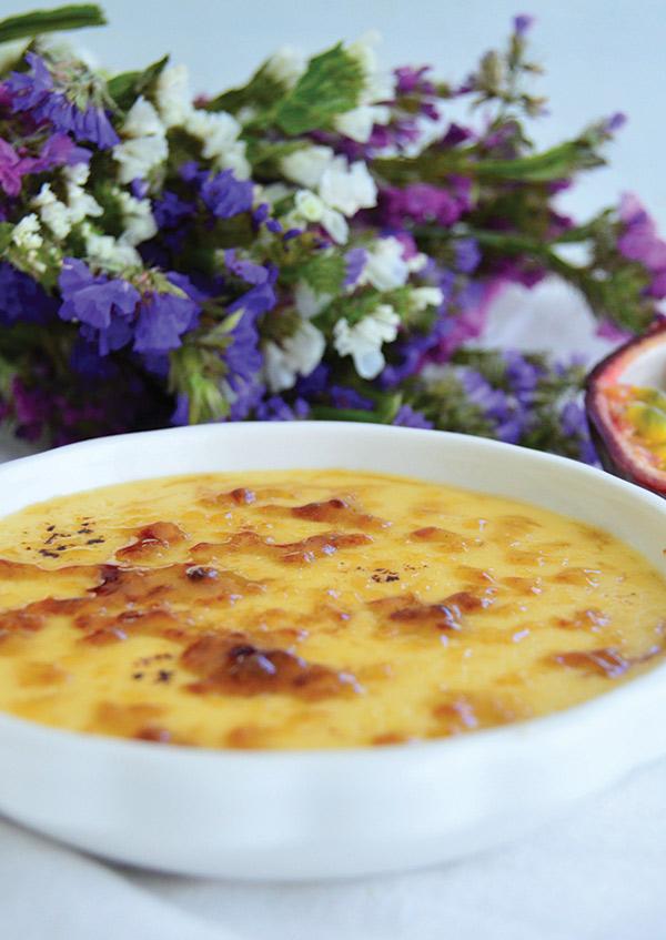 Duas sobremesas absolutamente irresistíveis - Leite-creme de maracujá