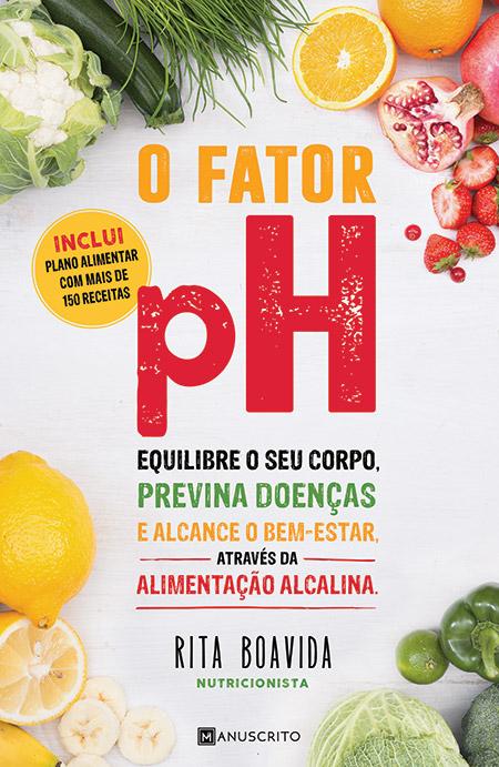 Capa do livro O fator pH de Rita Boavida