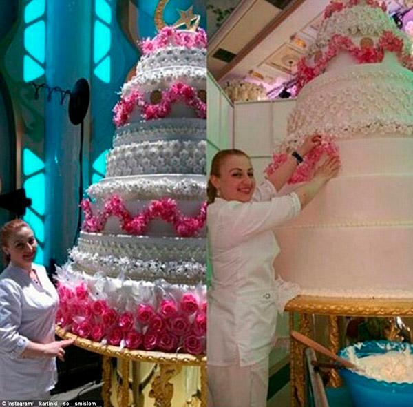 Casamento mais caro do mundo – bolo de noiva