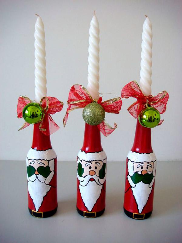 Decorações de Natal para fazer em família – vela