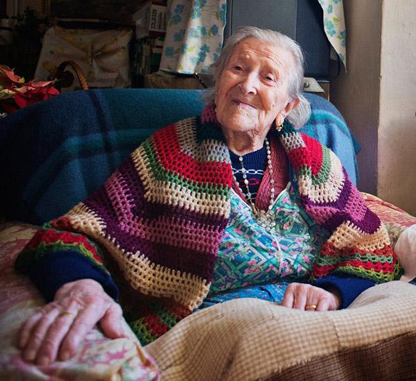 Os segredos da mulher mais velha do mundo – Emma Morano