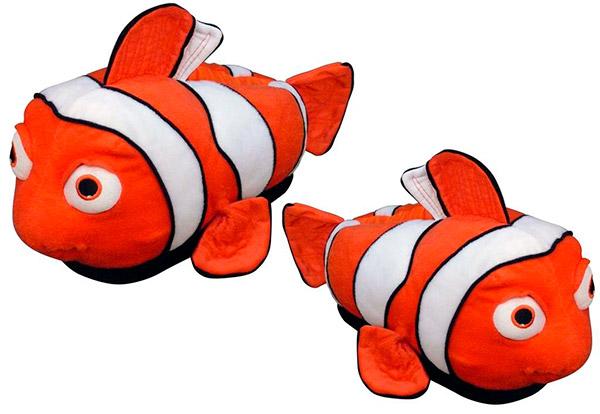 Pantufas quentinhas e divertidas – Nemo