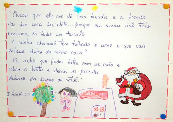 Cartas para o Pai Natal cómicas e ternurentas- Carta com instruções