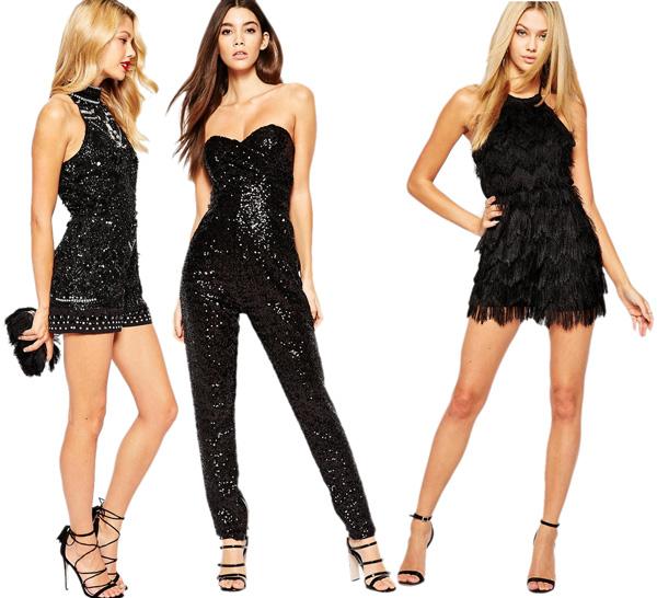 5 looks elegantes para receber o novo ano - Apostas que brilham
