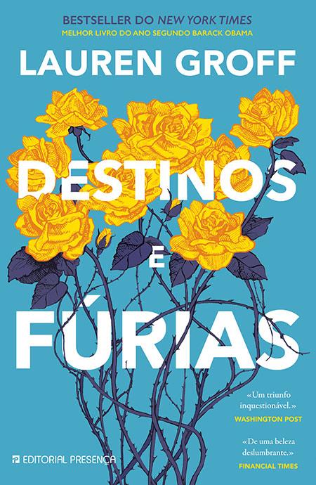 Capa do livro Destinos e Fúrias de Lauren Groff
