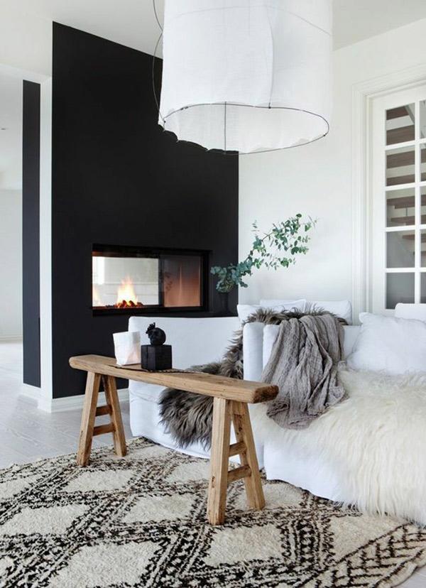 Como ter a casa quente e confortável - 6 dicas - Tapetes felpudos