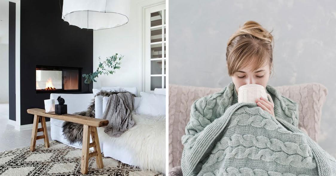 Como ter a casa quente e confortável – 6 dicas