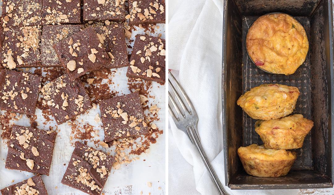 Duas sobremesas surpreendentemente baixas em calorias