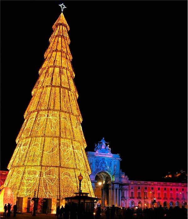 As árvores de Natal mais espectaculares do mundo- Lisboa