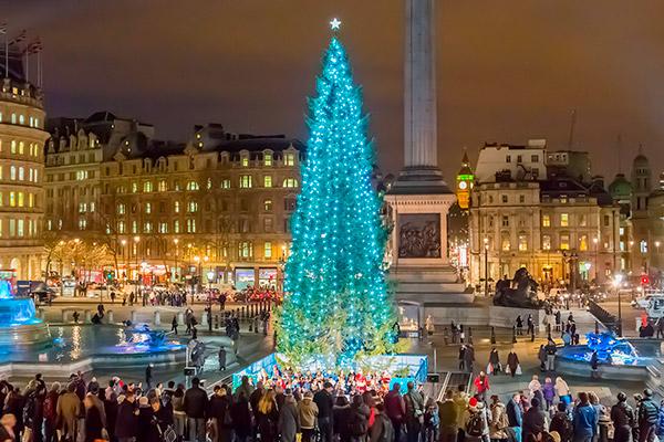 As árvores de Natal mais espectaculares do mundo- Londres