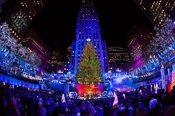As árvores de Natal mais espectaculares do mundo- Rockefeller Center