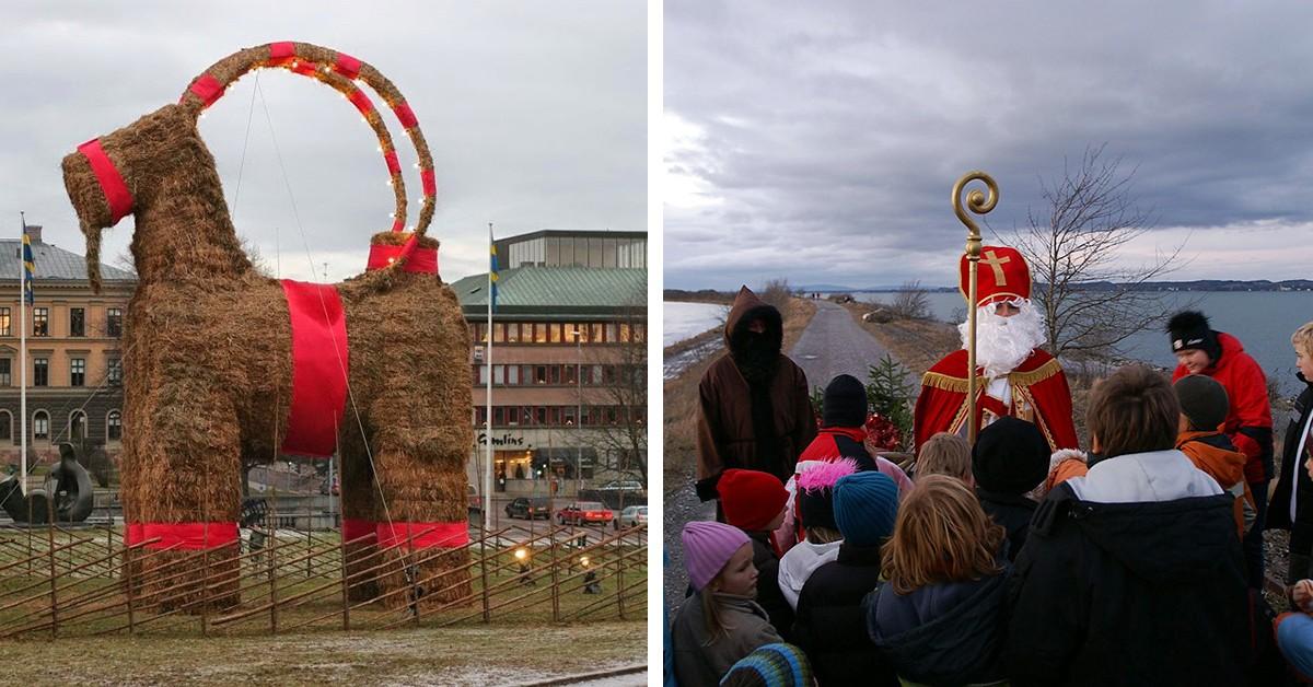 As mais belas e curiosas tradições de Natal no mundo