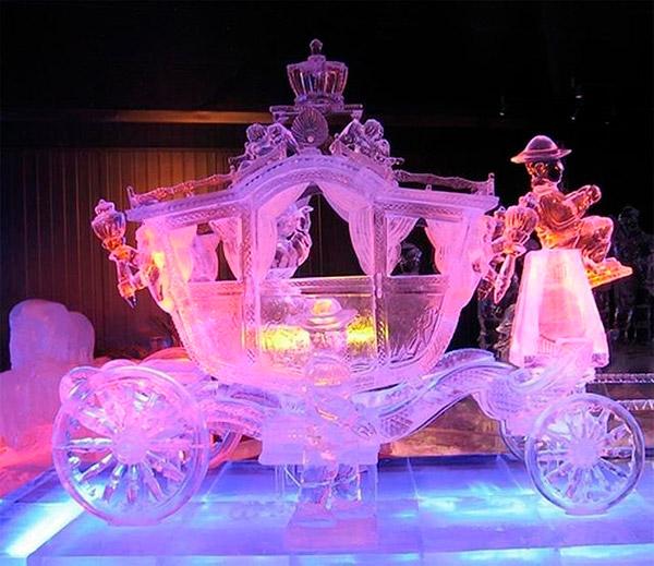 As mais impressionantes esculturas de gelo do mundo – Coche