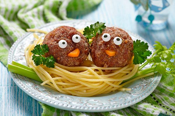 7 pratos divertidos que as crianças vão adorar – almôndegas