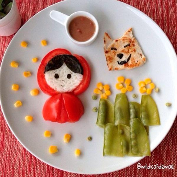 7 pratos divertidos que as crianças vão adorar – capuchinho vermelho