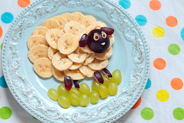 7 pratos divertidos que as crianças vão adorar – fruta