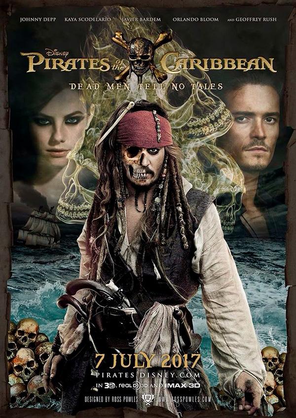 Saiba quais são os 7 filmes mais esperados que estreiam em 2017 – Piratas das Caraíbas 5